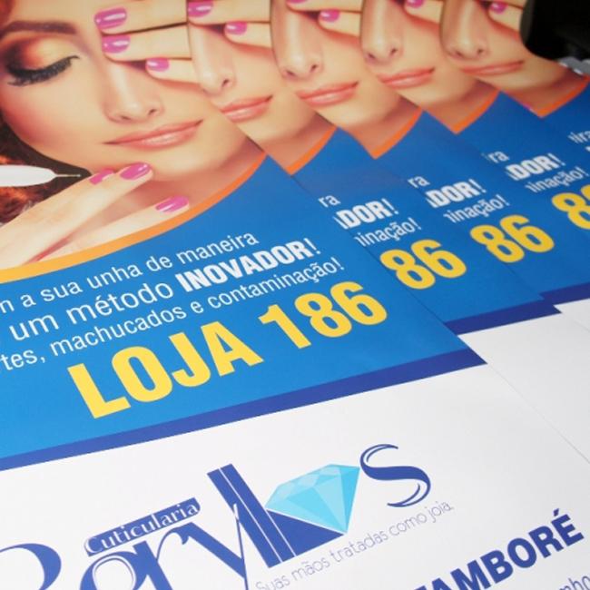 cartazes em grande formato poster